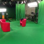 tournage dans les studio de KTO
