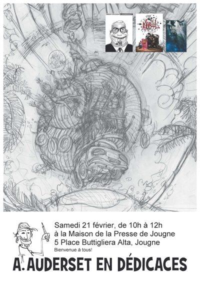 affiche dédicaces Jougne