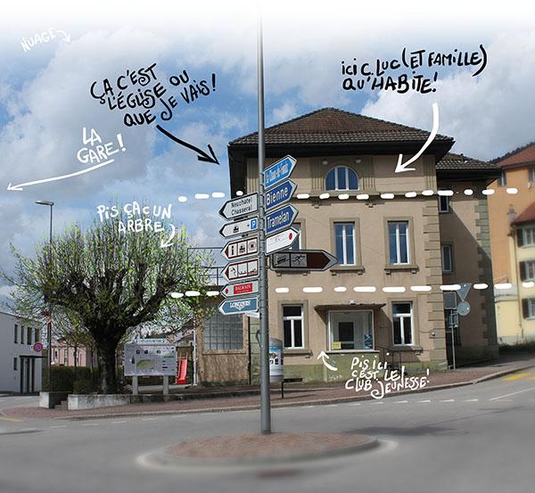 Eglise évangélique le Roc Eglise évangélique le Roc rue Jacques-David 12, 2610 St-Imier