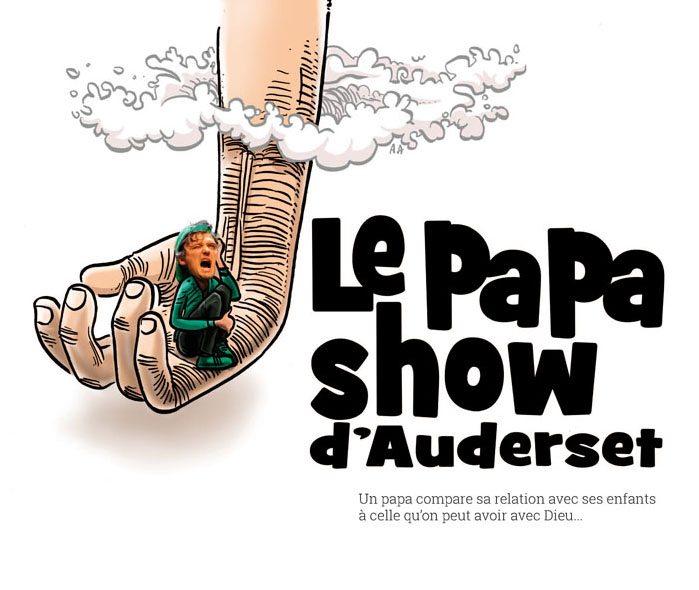 Affiche neutre papa show