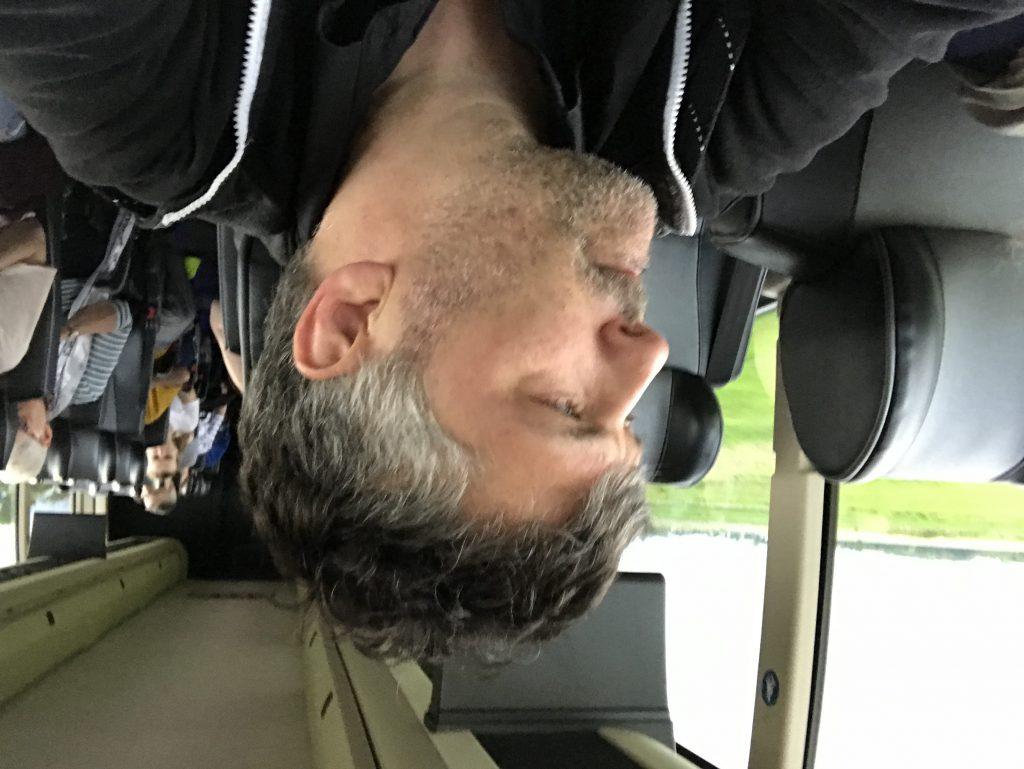 Dans le bus pour Québec-City