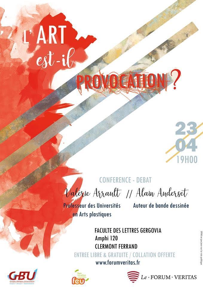 Conférence-Débat Clermont-Ferrand   Alain Auderset 3285dee9358