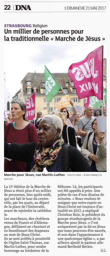 dna marche de jesus strasbourg 21 mai 2017